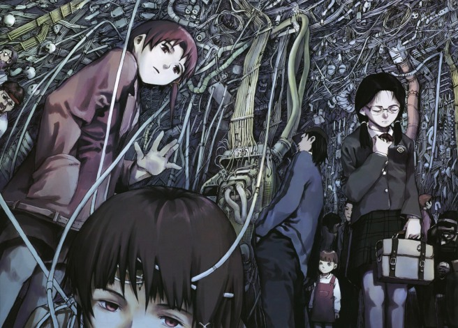 serial experiments lain 90s anime
