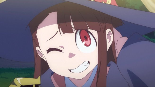 little witch academia oopss